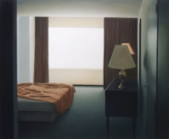 Hotelroom, 165-200 cm, 1998, oil on canvas.