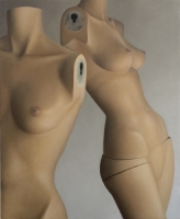 Mannequins torsos, 2016, 140-115 cm, oil on canvas.
