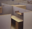 Cubicles, 2011, 145-160 cm, Oil on linen